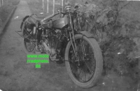 Andrees Motorrad Foto 750 ccm ohv Rennmaschine ca. 1927  an-01