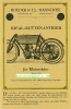 Roeder & Co Quadricycle Falt Prospekt  4 Seiten  1905   roed-p05
