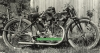 Acme-Rex Motorcycle Photo 176 ccm ohv Racer ca. 1926  acm-010