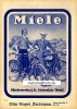 Miele Motorbicycle and Bicycle Leaflet 1938  mie-op38