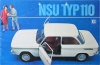 NSU Automobil Brochure 16 Pages  Typ 110  1966 nsu-op66