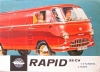 Tempo Delivery Van Rapid (Wiking) Brochure 8 Pages 1957  temp-p57