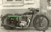 Dollar Motorrad Foto 350 ccm ohv Supersport Chaise-Motor 1931  do-06